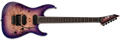 LTD DELUXE M-1000 Purple  Natural Burst 6-String Electric Guitar 2020