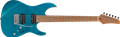 IBANEZ Martin Miller Signature MM1TAB Transparent Aqua Blue 6-String Electric Guitar 2018
