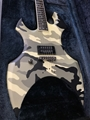 USED ESP Signature Series  Max Cavalera AX Camo Left Handed 6-String Electric Guitar
