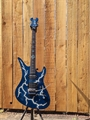 Schecter USA CUSTOM SHOP Synyster Gates FR/S  Natural Lightning w/Trans Blue 6-String Electric Guitar