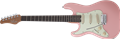 Schecter DIAMOND SERIES Nick Johnston Traditional Atomic Coral Left Handed  6-String Electric Guitar