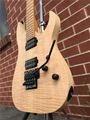 Schecter USA CUSTOM SHOP Sunset 24-6FR Flame Top Natural   6-String Electric Guitar