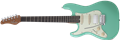 Schecter DIAMOND SERIES Nick Johnston Traditional HSS Atomic Green Left Handed  6-String Electric Guitar 2020