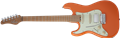 Schecter DIAMOND SERIES Nick Johnston Traditional HSS Atomic Orange Left Handed 6-String Electric Guitar 2020