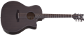 Schecter DIAMOND SERIES Orleans Studio Natural Satin See Thru Black 6-String Acoustic Electric Guitar