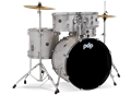PDP - Center Stage - Diamond White Sparkle – 5-Piece Complete Kit #PDCE2015KTDW
