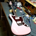 G&L USA  CUSTOM SHOP Doheny Shell Pink  6-String Electric Guitar 2018