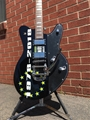Schecter DIAMOND SERIES PROTOTYPE Robert Smith UltraCure 40th Anniversary Black 6-String Electric Guitar