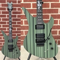 Schecter DIAMOND SERIES PROTOTYPE Syn Gates FR/S Flat Olive Drab 6-String Electric Guitar