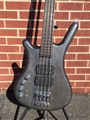 Warwick German Pro Series Corvette $$ Nirvana Black Transparent Satin Left-Handed 4-String Electric Bass 2020