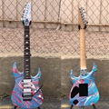 IBANEZ 25th Anniv. Steve Vai Universe UV77 PSN  Passion  7-String Electric Guitar
