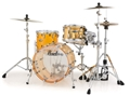 Pearl Crystal Beat CRB 503P/C  Tangerine Glass   3-piece Shell Pack