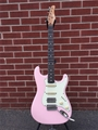 Schecter USA  CUSTOM SHOP Traditional Wembley HSS Coral Pink Aged Nitro  6-String Electric Guitar 2019