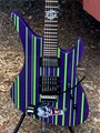 Schecter USA CUSTOM SHOP Synyster Gates FR/S USA Signature Solid  Purple/Green Joker 6-String Electric Guitar 2019