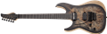 Schecter DIAMOND SERIES Reaper-6 FR/S    Satin Charcoal Burst Left Handed 6-String Electric Guitar 2019