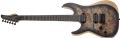 Schecter DIAMOND SERIES Reaper-6  Satin Charcoal Burst Left Handed 6-String Electric Guitar 2019