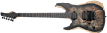 Schecter DIAMOND SERIES Reaper-6 FR Satin Charcoal Burst Left Handed 6-String Electric Guitar