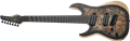 Schecter DIAMOND SERIES Reaper-7 Multiscale  Satin Charcoal Burst Left Handed 7-String Electric Guitar 2019