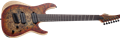 Schecter    DIAMOND SERIES  Reaper-7 Multiscale Inferno Burst  7-String Electric Guitar 2019