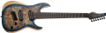 Schecter DIAMOND SERIES Reaper-7 Multiscale Satin Sky Burst 7-String Electric Guitar 2019