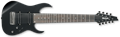 IBANEZ  Prestige RG90BKP Invisible Shadow finish   9-String Electric Guitar