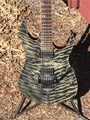 USED Ibanez Premium 2010 RG920 Black Ice  6-String Electric Guitar
