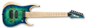 IBANEZ RGDIX7MPB SBB Surreal Blue Burst 7-String Electric Guitar