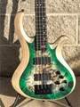 Schecter DIAMOND SERIES PROTOTYPE Riot-4 Green Burst  4-String Electric Bass Guitar 2019