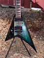 USED 2005 Jackson Custom Shop USA RR-1T  Graveyard Graphic  Left Handed 6-String Electric Guitar
