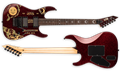 LTD SIGNATURE SERIES KH Ouija  Red Sparkle 6-String Electric Guitar 2019