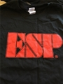 ESP/DCGL  Black/Red Logo Small Tee Shirt