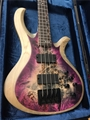 Schecter DIAMOND SERIES PROTOTYPE Riot-4 Aurora Burst One 4-String Electric Bass Guitar 2019