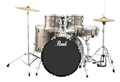 Pearl  Roadshow SLS 505S/C  Bronze Metallic Complete 5 piece Drum Set