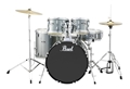 Pearl  Roadshow SLS 505S/C  Charcoal Metallic Complete 5 piece Drum Set