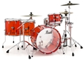 Pearl Crystal Beat CRB 524P/C  Ruby Red  4-piece Shell Pack