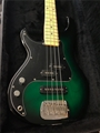 G&L USA SB-2 Green Burst Left Handed 4-String Electric Bass Guitar 2018