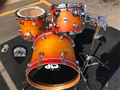 DW USA Collector's Birch Satin Classic Sunburst   3-piece shell kit