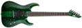 LTD SIGNATURE SERIES SC-20 See Thru Green   6-String Electric Guitar