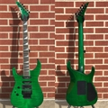 USED  2006 Jackson Custom Shop USA SL-1 Trans Green Left Handed 6-String Electric Guitar
