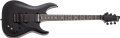 Schecter DIAMOND SERIES C-1 FR/S  SLS Evil Twin Satin Black 6-String Electric Guitar 2019