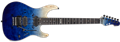 ESP E-II SN-2 Blue Natural Fade  6-String Electric Guitar 2019