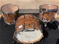 Sonor SQ2 Maple Shell Chocolate Burl 3-Piece Shell Pack 2018