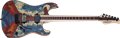 Schecter USA CUSTOM SHOP   Masterworks Sunset Custom-II Buckeye Burl Top  NAMM 6-String Electric Guitar 2020