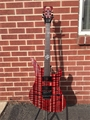Schecter USA CUSTOM SHOP Synyster Gates FR Trans Red w/Natural Stripes 6-String Electric Guitar