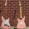 G&L USA   S-500  Shell Pink 6-String Electric Guitar 2018