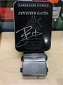 Schecter USA Custom Shop SYNYSTER GATES SIGNATURE Chrome Pickup Set SIGNED TIN 6528