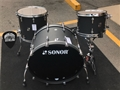 Sonor SQ2 Maple Shell Dark Satin 3-Piece Shell Pack