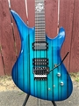 Schecter USA CUSTOM SHOP Synyster Gates FR/S USA Signature  Trans Blue Burst 6-String Electric Guitar 2019