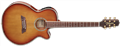 Takamine TSP138C TB Gloss Tea Burst Thinline 6-String Acoustic Electric Guitar