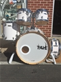 TAYE Studio Maple  SM522S  Trans White  5-piece shell pack